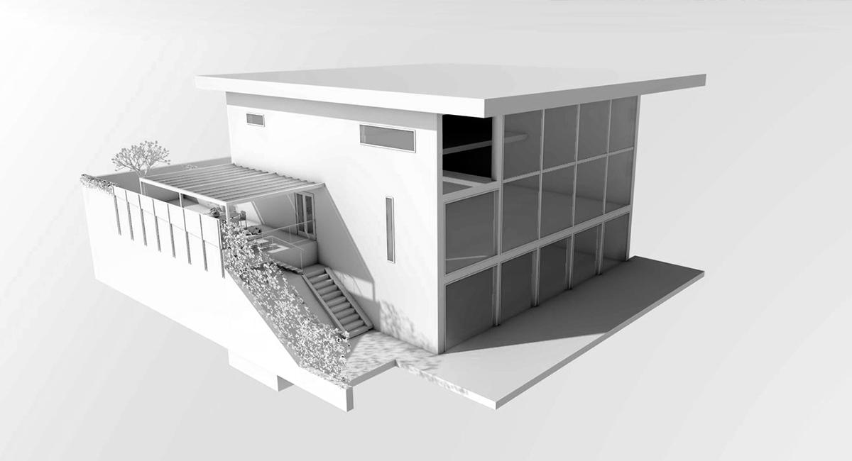 Luxury terrace 1